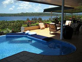 Sea view villa in vanuatu port vila east coast vanuatu for Beach houses on the east coast