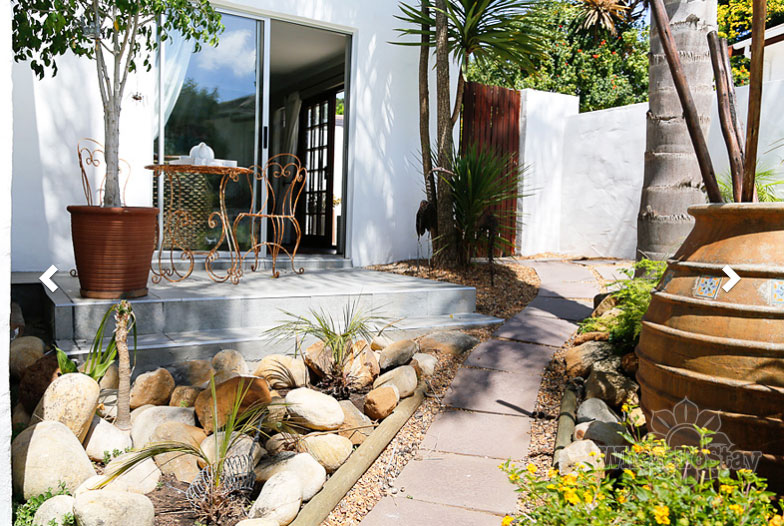Landscaping Stones Port Elizabeth : Stepping stones garden cottage cape town durbanville south africa