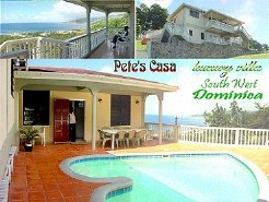 Holiday Rentals & Accommodation - Holiday Villas - Dominica - south west - close to Roseau