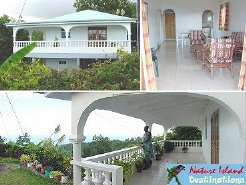 Self Catering to rent in Riviere Cyrique, Dominica's East Coast, Dominica
