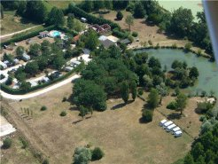 Camping and Caravan to rent in Montendre, Twinlakes, France