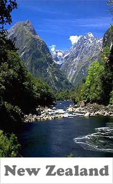 New Zealand - Location & Hébergement de Vacances